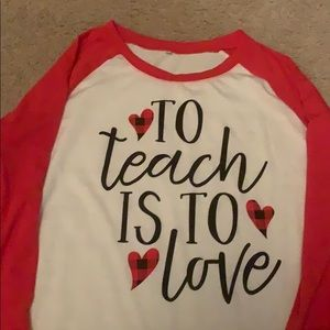 Tops - Teacher shirt